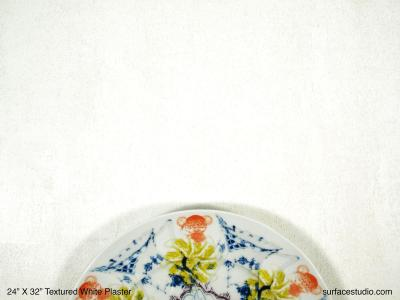 Textured White Plaster