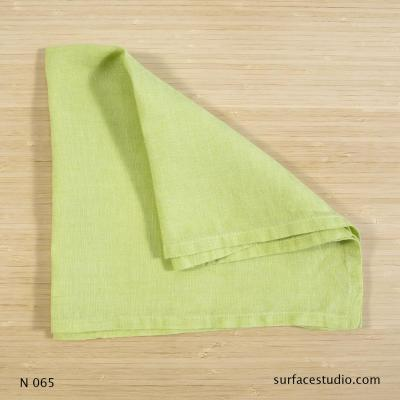N 065 Light Green Solid Napkin