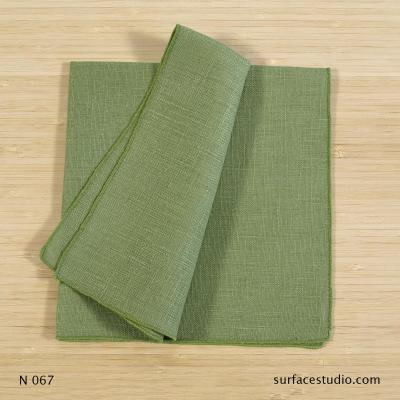 N 067 Green Solid Napkin