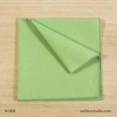 N 068 Bright Green Solid Napkin