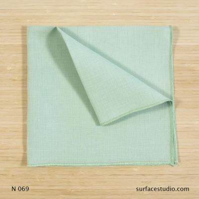 N 069 Light Foam Green Solid Napkin