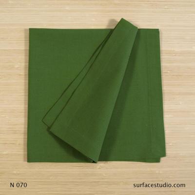 N 070 Green Solid Napkin