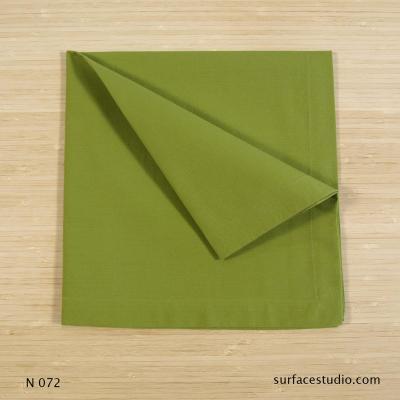 N 072 Green Solid Napkin