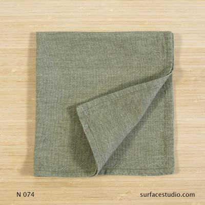 N 074 Green Solid Napkin 4 available