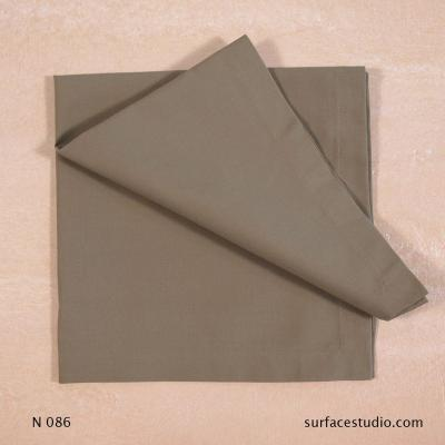 N 086 Brown Solid Napkin