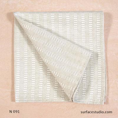 N 091 Grey Beige Patterned Napkin