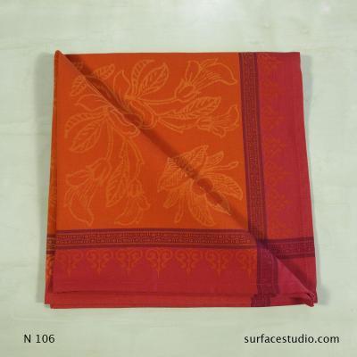 N 106 Orange Pink Red Napkin