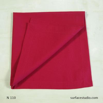 N 110 Pink Solid Napkin