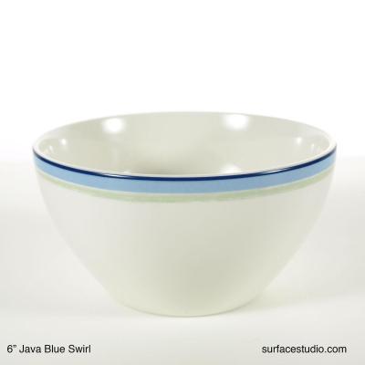 Java Blue Swirl