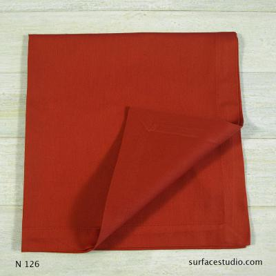 N 126 Red Solid Napkin