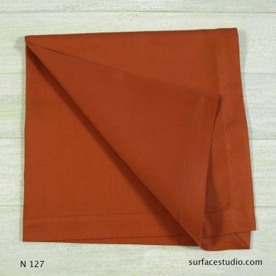 N 127 Red Solid Napkin