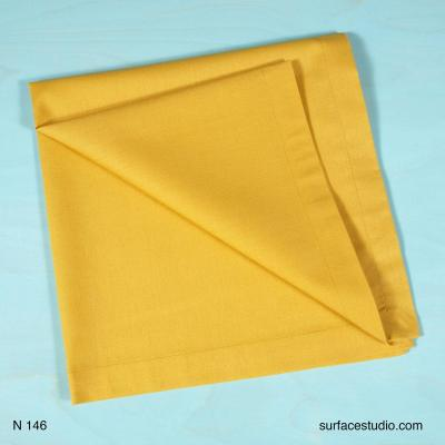 N 146 Yellow Solid Napkin