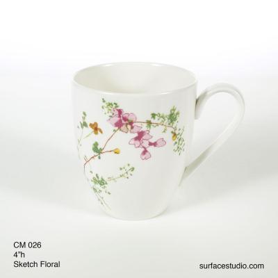 CM 026 Sketch Floral