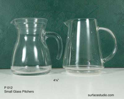 P 012 Glass Pitchers $5 per item