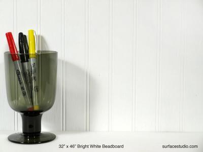Bright White Beadboard