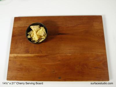 Cherry Serving Board