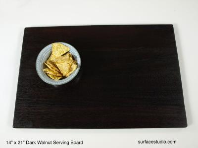 Dark Walnut Serving Board