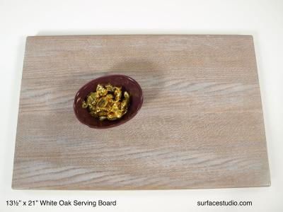 White Oak Serving Board