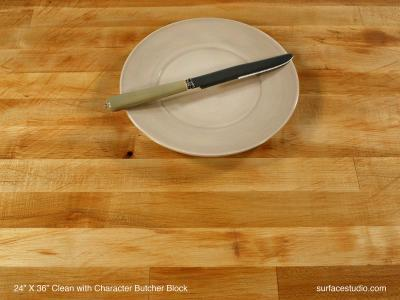 Clean With Character Butcher Block (40 lbs)