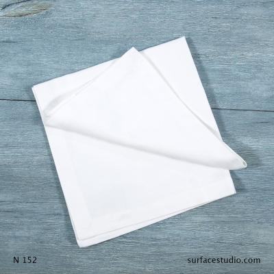N 152 White Solid Napkin