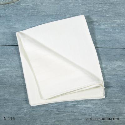 N 156 White Solid Napkin