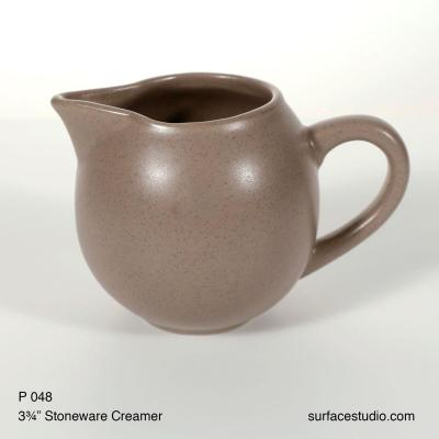 P 048 Stoneware Creamer