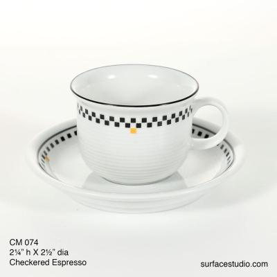 CM 074 Checkered Espresso