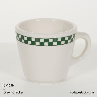 CM 099 Green Checker