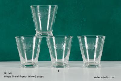 GL 104 Wheat Sheaf Glasses $5 per piece