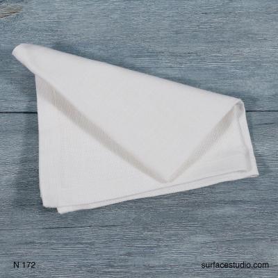 N 172 White Solid Napkin