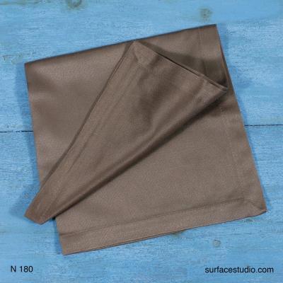 N 180 Grey Solid Napkin