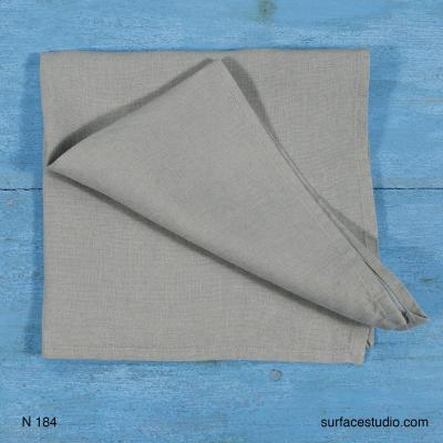 N184 Grey Solid Napkin 3 available