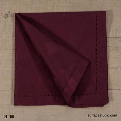 N 196 Purple Solid Napkin 4 available