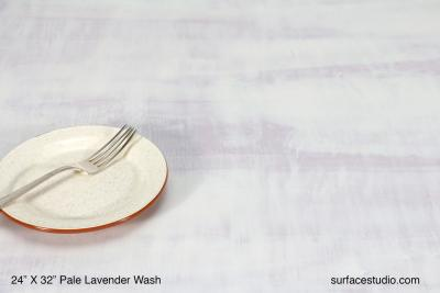 Pale Lavender Wash Venetian Plaster