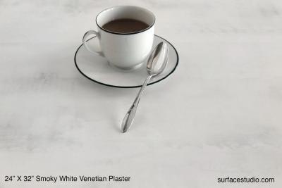 Smoky White Venetian Plaster