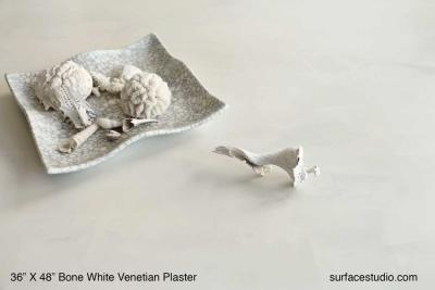 Bone White Venetian Plaster  (20 LBS) two available