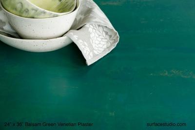 Balsam Green Venetian Plaster
