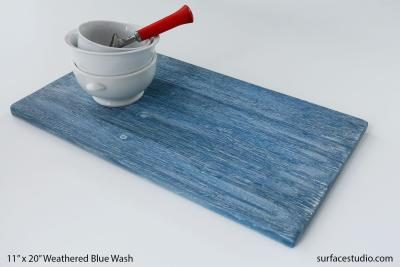 Weathered Blue Wash