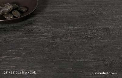 Coal Black Cedar