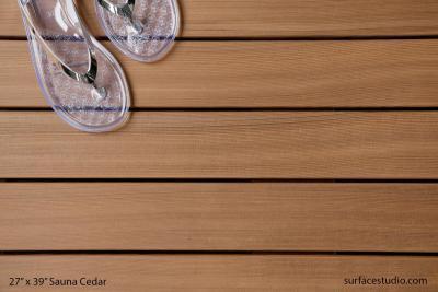"Sauna Cedar (3"" Planks) (15 LBS)"