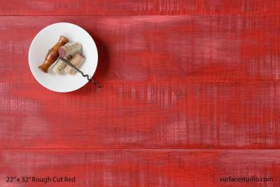 Rough Cut Red