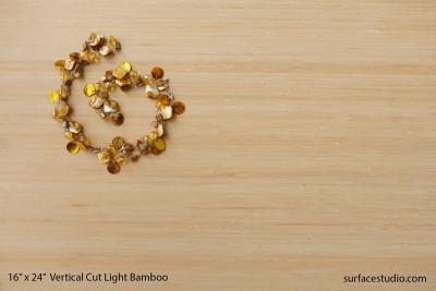Vertical Cut Light Bamboo