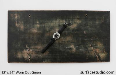 Worn Out Green