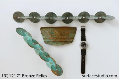 Bronze Relics (3) $20 - $40
