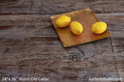Bluish Old Cedar