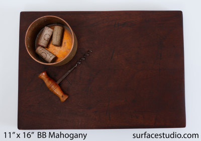Mahogany Butcher Block