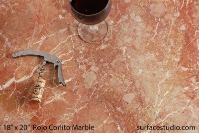 Rojo Coralito Marble (30 lbs)
