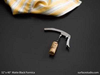 Matte Black Formica