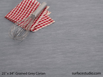 Grained Grey Corian