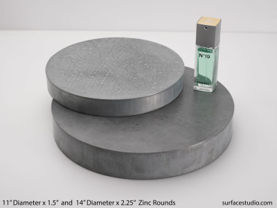 Zinc Rounds (2) $50 and $55